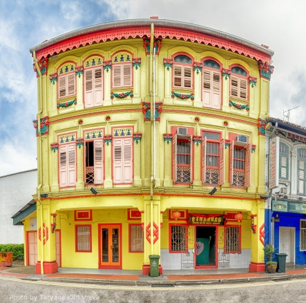 Shophouses in Chinatown Photo credit: Tatyana Kildisheva