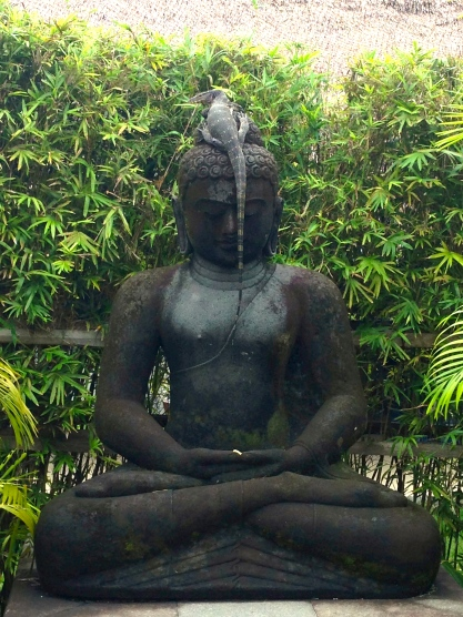Buddha With Lizard on Head, babeses